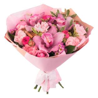 Букет «Розовые мечты»