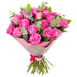 Букет «Розовый блеск»
