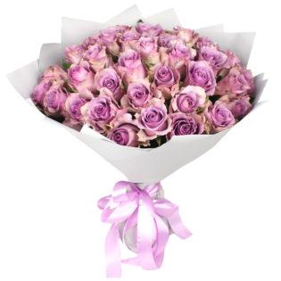 Букет «Розовый кристалл»