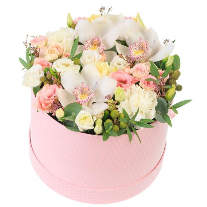 """Цветы в коробке """"Английский сад"""""""