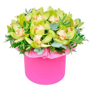Цветы в коробке «Шепот весны»
