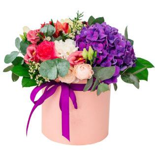 Цветы в коробке «Симфония»