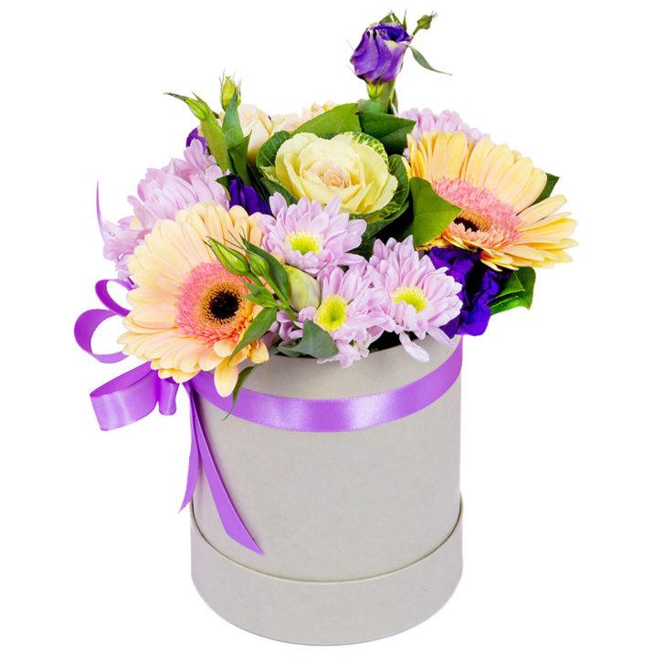 """Цветы в коробке """"Волшебная сказка"""""""